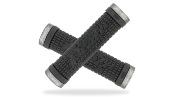 Lizard Skins Peaty Cheers Lock-On puños negro/grey