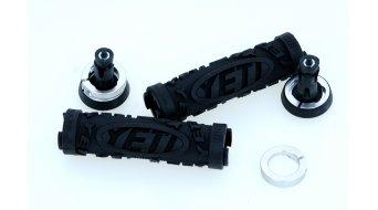 ODI Yeti Hardcore manopole nero 130mm con anelli di chiusura LockOn System