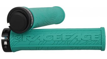 Race Face Half Nelson Lock-On puños turquoise Mod. 2016