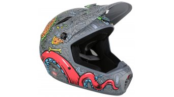 Bell Drop DH-helmet mat titanium J Phil knock out