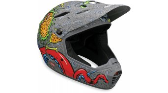 Bell Drop DH-helmet mat titanium J Phil knock out