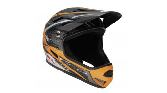 Bell Sanction DH-helmet size L (58-60cm) mat silver/orange splater 2014