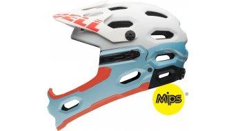 Bell Super 2R MIPS Helm MTB-Helm Damen-Helm Gr. M white/glavier blue sonic Mod. 2016