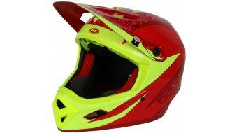 Bell Transfer-9 头盔 DH(速降)头盔 型号 M (55-57厘米) red/marsala viper 款型 2017- SALES SAMPLE