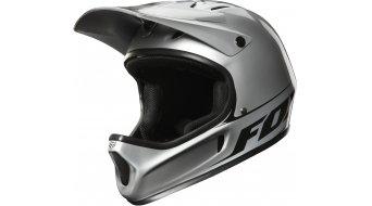 FOX Rampage DH- helmet size L (59-60cm) metallic silver 2013