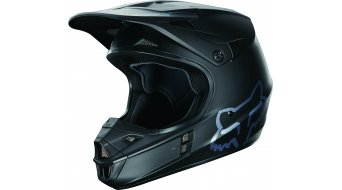 Fox V1 Matte casco Caballeros MX-casco matte negro