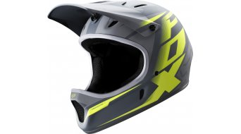 FOX Rampage DH- helmet size XL (61-62cm) grey/yellow
