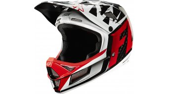 FOX Rampage Pro carbon Given DH-helmet black/white