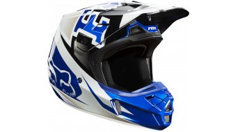 FOX V2 Anthem MX-Helm Gr. XL (61-63cm) blue