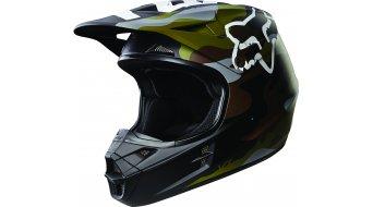 Fox V1 Camo Helm Herren MX-Helm Gr. S (54-56cm) green camo