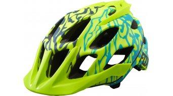 Fox Flux MTB-casco Señoras-casco miami verde