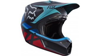 Fox V3 Seca casco Caballeros MX-casco