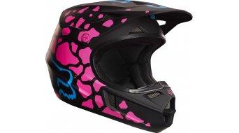 Fox V1 Grav Helm Kinder MX-Helm black/pink
