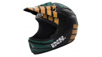 iXS Phobos Smoke Fullface DH- helmet size M (57-58cm) green/black/orange 2013