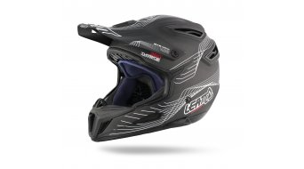 Leatt DBX 6.0 casco DH-casco negro/blanco