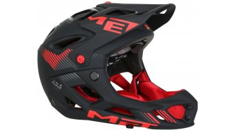 Met Parachute casco casco integral All Mountain MTB-casco color apagado