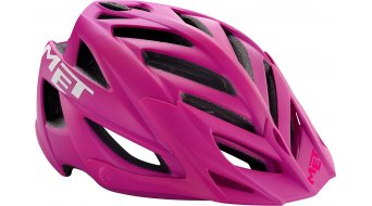 Met Terra casco All Mountain MTB mis. 54-61cm opaco pink/cyan- modello espositivo