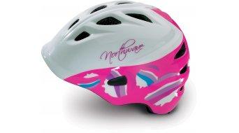 Northwave Star MTB casco niños-casco blanco/fuchsia