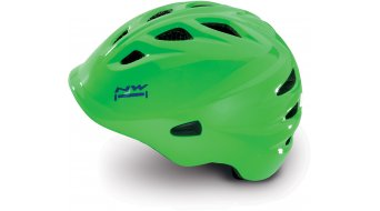 Northwave Wake MTB Helm Kinder-Helm green fluo