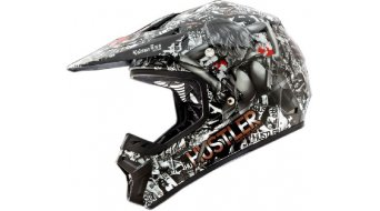 ONeal Rockhard II Hustler Helm MX-Helm Gr. M (57/58cm) schwarz Mod. 2016