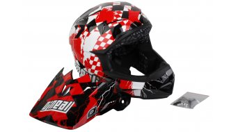 ONeal Airtech AT-1 checkered helmet red