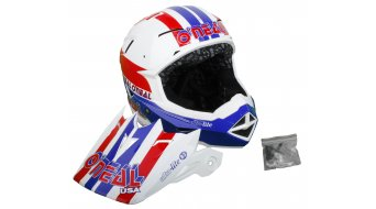 ONeal Airtech AT-1 Ultra Lite Le 83 helmet size XL (61-62cm) blue/red/white