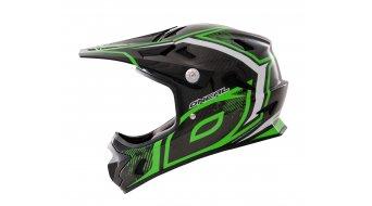 ONeal Spark Fidlock carbon Race DH-helmet neon green 2014