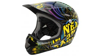 ONeal Backflip Evo Psychedelic DH-helmet size L 2014