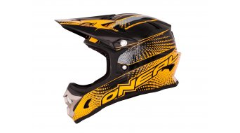ONeal Fury Fidlock Evo Flyer DH-helmet size L black/neon orange 2014