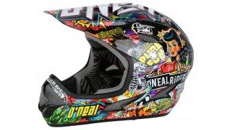 ONeal Backflip Evo Crank helmet helmet black/multi 2015