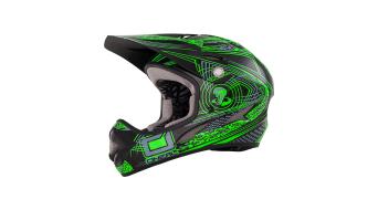 ONeal Backflip Fidlock EVO Venom helmet green 2015