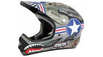 ONeal Backflip Fidlock EVO Wingman helmet helmet metal/white 2015