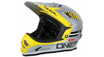 ONeal Fury Fidlock EVO Afterburner casco DH-casco tamaño XL color plata Mod. 2015