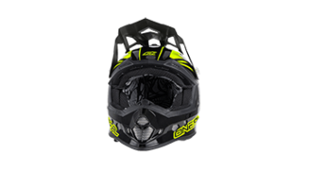 ONeal 2Series Manalishi Evo casco MX-casco negro(-a)/color neón amarillo(-a) Mod. 2016