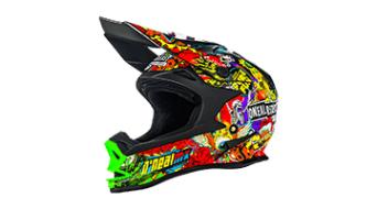 ONeal 7Series Crank Evo casco casco MX . nero/multi mod. 2016