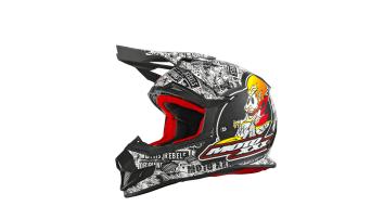 ONeal Moto XXX OG Character Helm MX-Helm Gr. XL schwarz/weiss Mod. 2016