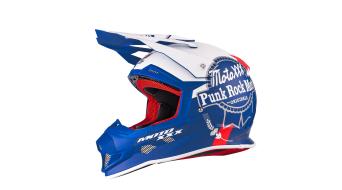 ONeal Moto XXX PBX casco MX-casco azul/blanco(-a) Mod. 2016
