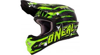 ONeal 3Series Crawler casco MX casco bambino . nero/verde mod. 2016