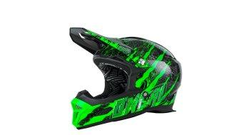 ONeal Fury Fidlock RL 2 Crawler helmet black/green 2017