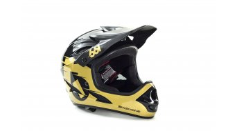 Sixsixone Comp Helm DH-Helm Gr. M black/gold Mod. 2015