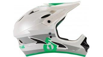 Sixsixone Comp Helm DH-Helm Gr. XS bolt grey/green Mod. 2016
