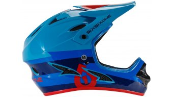 Sixsixone Comp Helm DH-Helm Gr. XS bolt red/blue Mod. 2016