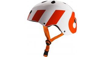 Sixsixone Dirt Lid casco MTB mis. unisize white/arancione mod. 2016