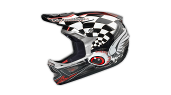 Troy Lee Designs D3 Finishline CP Fullface DH-helmet black 2014
