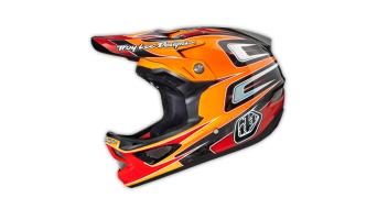 Troy Lee Designs D3 Speed CF Fullface orange 2014