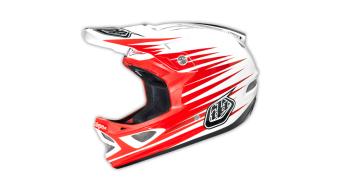 Troy Lee Designs D3 zinc CP Fullface DH- helmet white 2014