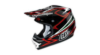 Troy Lee Designs Air Charge Helm Fullface MX-Helm Gr. L (58-59cm) black/red Mod. 2015