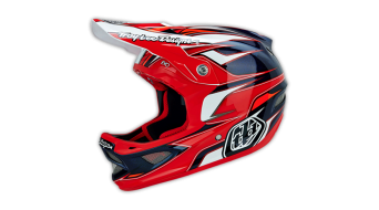 Troy Lee Designs D3 Evo Composite casco casco integral DH-casco tamaño L (58-59cm) rojo Mod. 2015