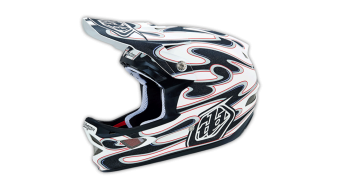 Troy Lee Designs D3 Squirt Composite Helm Fullface DH-Helm Gr. L (58-59cm) white Mod. 2015