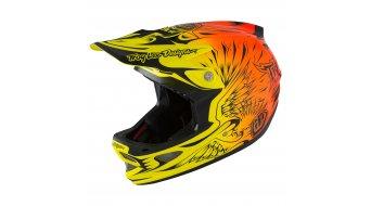 Troy Lee Designs D3 MIPS Helm Fullface-Helm ravange orange Mod. 2016